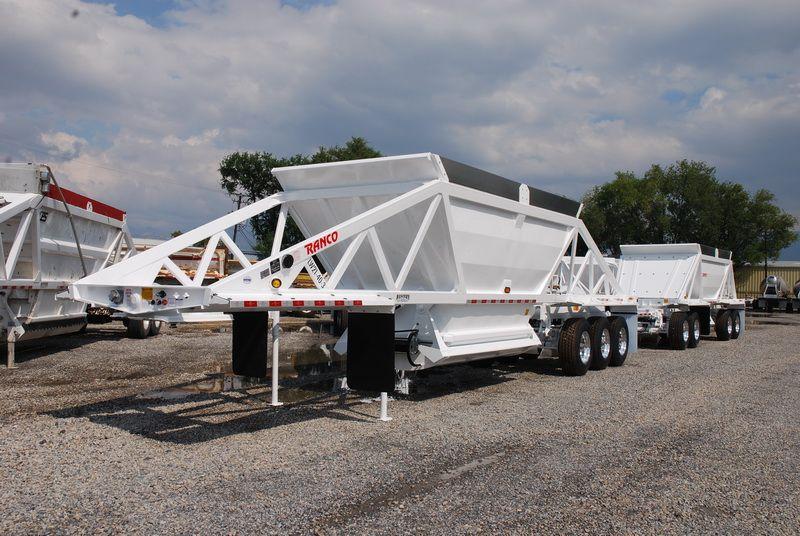 2022 Ranco 10 Axle Bottom Dump Trailer Train