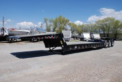 2019 Load King 503 DFP Folding Neck LowboyTrailer