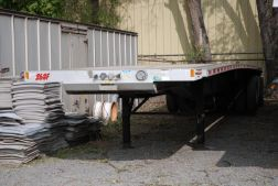 2015 Fontaine HCR5212WSA 48' Flatbed Trailer