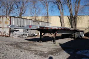 2014 48' 2-Axle Mac Flatbed Trailer
